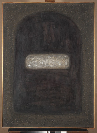Kompozycja - Obraz czarny