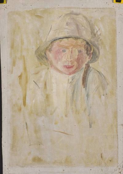 Szkic postaci chłopca