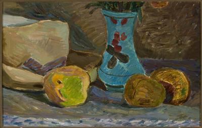 Niebieski wazonik