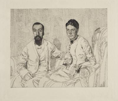 Portrait des parents de l'artiste, stan II