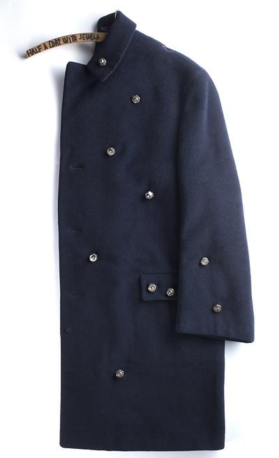 Pół płaszcza z klejnotami