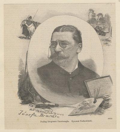 Portret Józefa Brandta