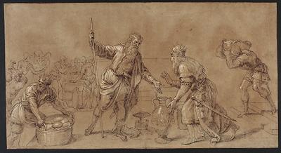 Abraham i Melchizedek