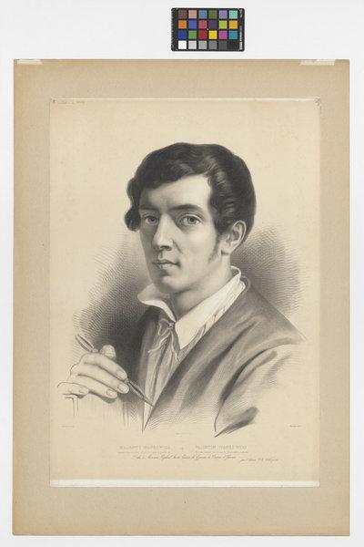Autoportret Walentego Wańkowicza