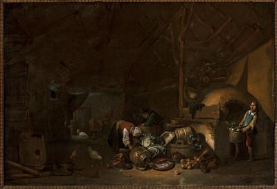 Image from object titled Wnętrze szopy