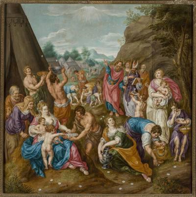 Zbieranie manny (Wj 16, 14-17)