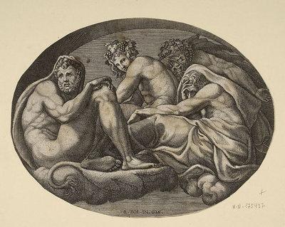 Herkules, Bachus, Pan i inne bóstwo