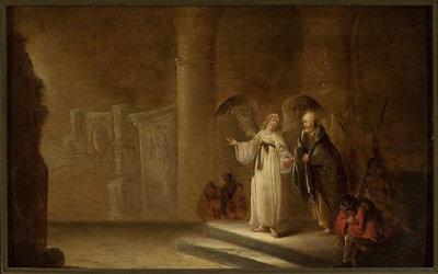 Uwolnienie św. Piotra z więzienia (Dz 12, 5-8)