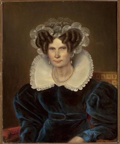 Portret królowej holenderskiej Wilhelminy