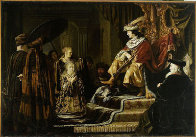 Estera przed Ahaswerusem (Est 2, 16)