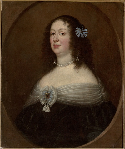 Portret księżniczki Anny de Medici