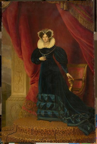 Portret Luizy Wilhelminy Pruskiej, królowej holenderskiej, żony Willema I