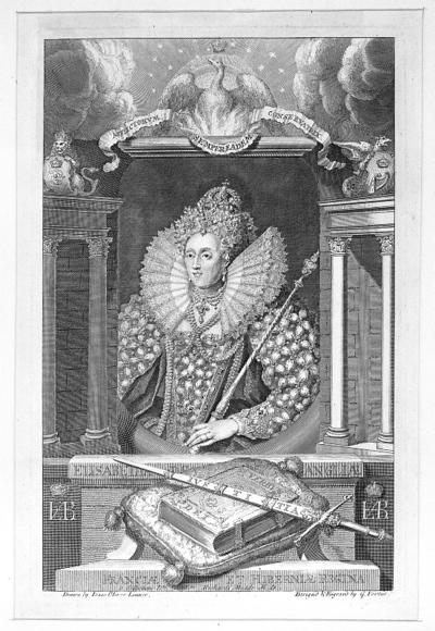 Portret królowej Anglii Elżbiety I