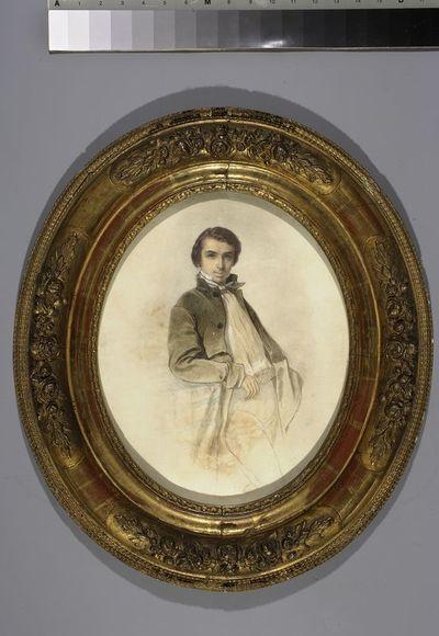 Portret malarza Jules'a Holtzapffla