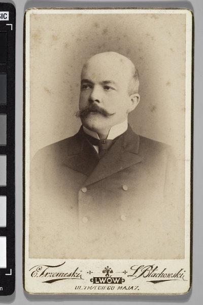 Portret hr. Kazimierza Badeniego (1846-1909), prawnika i polityka