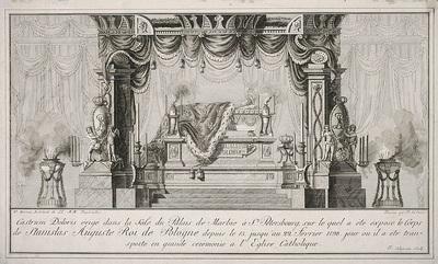 Castrum doloris króla Stanisława Augusta Poniatowskiego