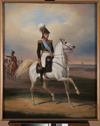 Portret konny Paskiewicza