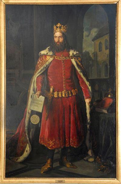 Portret Kazimierza Wielkiego