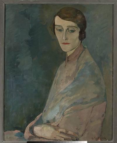 Portret kobiety (Portret Pani Edwardowej Woronieckiej)