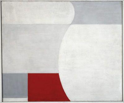 Kompozycja biało-czerwona
