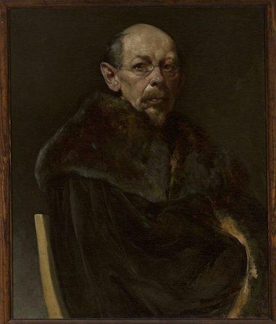 Portret starego mężczyzny /modela