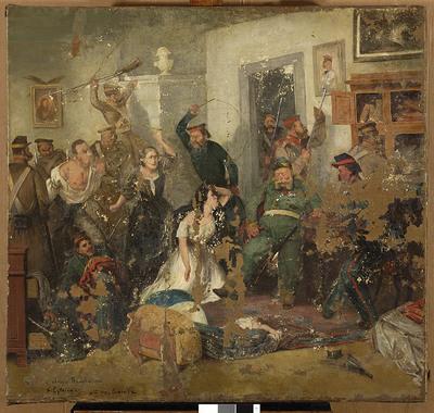 Scena z 1863 roku - Rewizja
