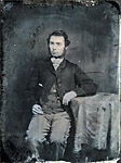 Image from object titled [Rees Arthur Rees (Rhys Dyfed, 1837-66) (ambrotype)]