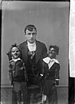 Image from object titled [Ventriloquist and his dolls]