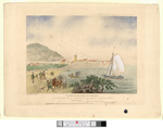 Image from object titled View of the town of Aberistwith