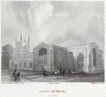 Image from object titled Bangor Cathedral. S.E. View