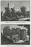 Image from object titled [West View of Chepstow Castle. (and) Entrance to Chepstow Castle.]