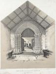 Image from object titled Porch of Llanbadarn Church, near Aberystwyth