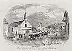 Image from object titled Over Monnow & St. Thomas's Church, Monmouth