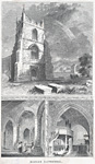 Image from object titled Bangor Cathedral; Nave, S. Transept