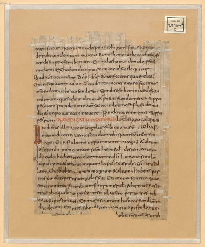 Image from object titled Voll-Lektionar (Comes duplex) - BSB Clm 29303(12
