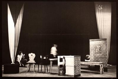 Posel z Liptákova, 1977, Divadlo Járy Cimrmana Praha