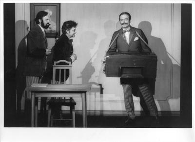 Vyšetřování ztráty tř. knihy, 1967, Divadlo Járy Cimrmana Praha