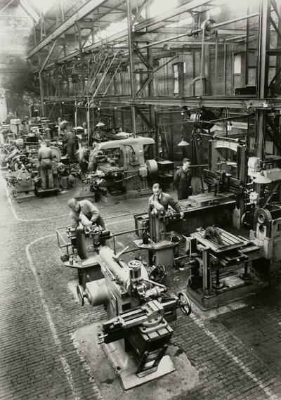 Image from object titled Freeswerkplaats van  Grasso's Machinefabrieken N.V.