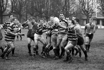 Image from object titled Rugbywedstrijd The Dukes - USRS.