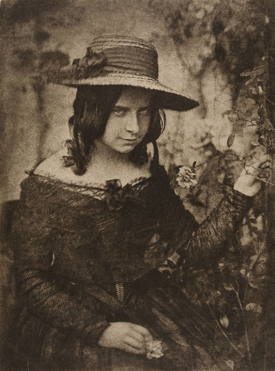 Image from object titled Girl in Straw Hat