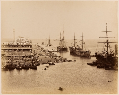 Vauban et Comorin à Port Said