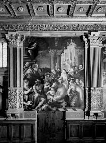 Die heilige Katharina heilt eine Besessene
