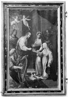 Mystische Vermählung der heiligen Katharina von Siena