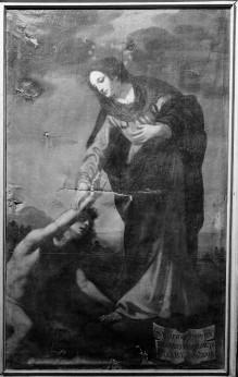 Bilder zum Gedächtnis an Wunder des Gnadenbildes — Maria Annunziata hilft dem ertrinkenden Giovanni