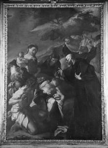 Der heilige Benedikt erweckt einen Knaben