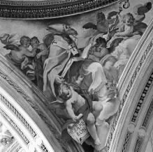 Glorie der Florentiner Heiligen — Die Kirchenväter