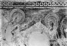 Kreuzigungsbilder — Kreuzigung, links: Ohnmacht Mariens