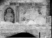 Image from object titled Madonna, der Täufer und Engel