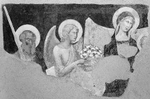 Maria mit Kind und Heilige