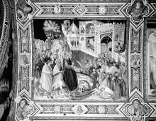 Image from object titled Szenen der Passion Christi — Einzug Christi in Jerusalem
